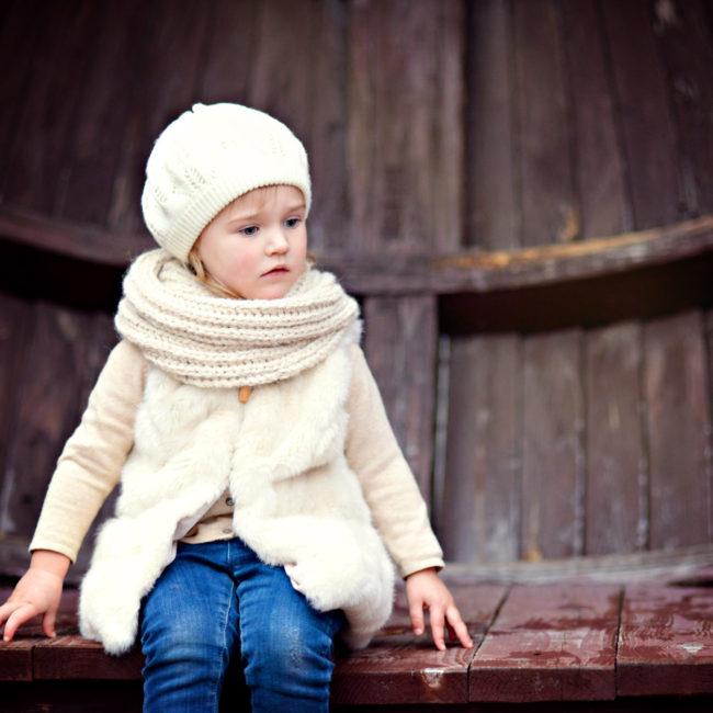 Маленькая девочка. Портрет